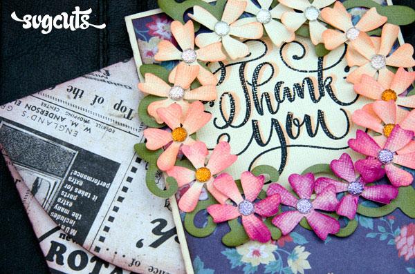SC - Freebiee - Floral Circle Card - 07/2018