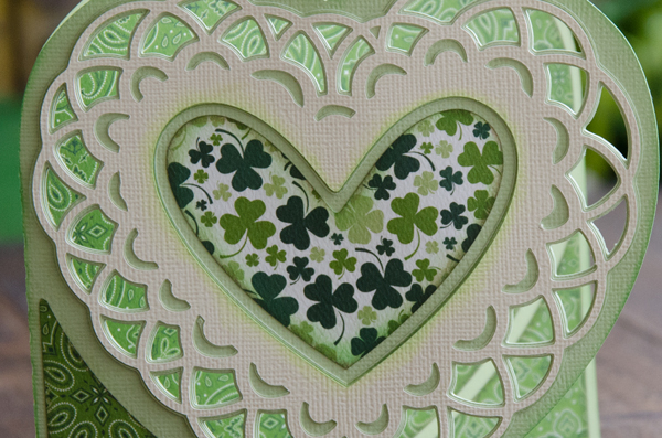Saint Patrick's Day Doily Card