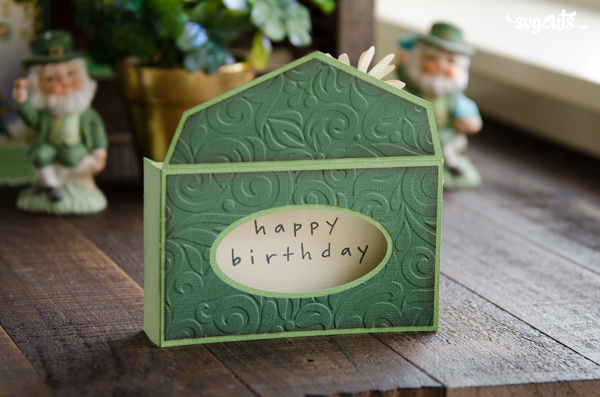 Saint Patrick's Day Mail Box Card