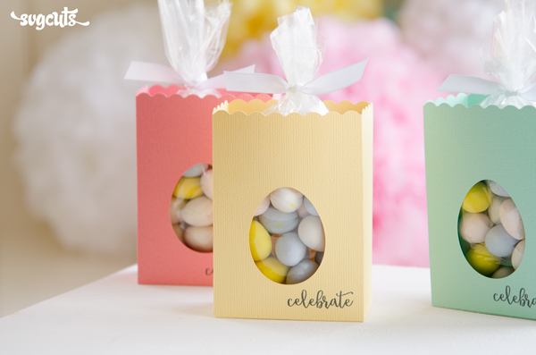 SVG Cuts FREE file - Easter Treat Box