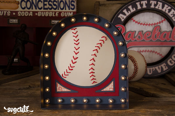 Dimensional-Baseball-Marquee-Sign-SVGCuts