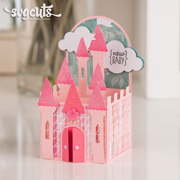 Princess-Castle-Box-Card-SVGCuts