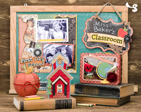 Miss Baker's Classroom SVG Kit from SVGCuts