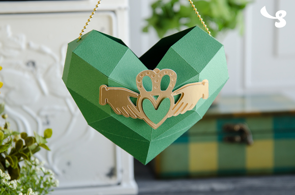 Design Inspiration: Claddagh Heart