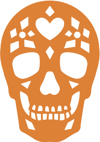 Free SVG File – 10.25.18 – Picado Skull