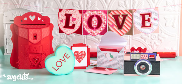 New Free Gift - Love Letters SVG Kit