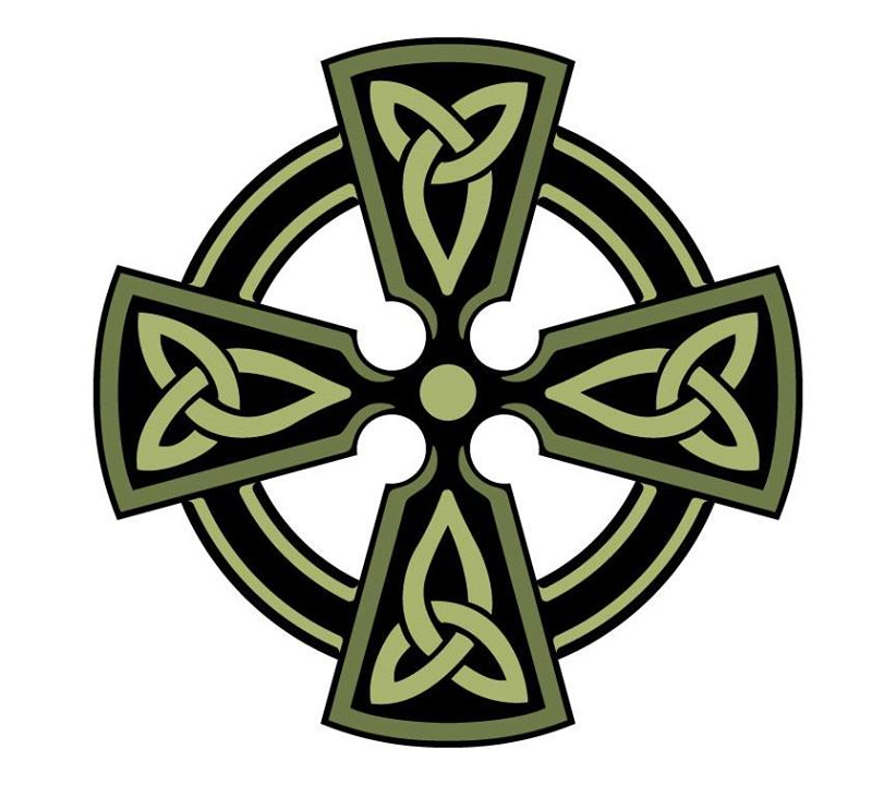 Free Celtic Cross SVG File from SVGCuts