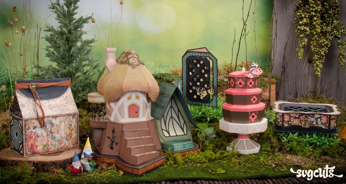 Update to the Fairy Cottage SVG Kit