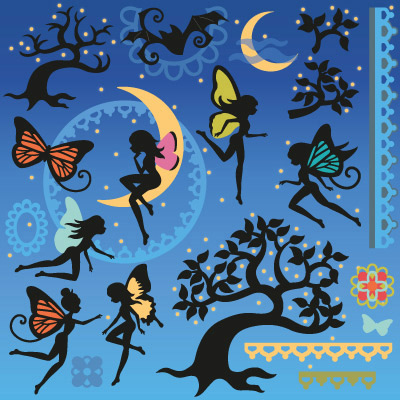 Twilight Fairies SVG Collection