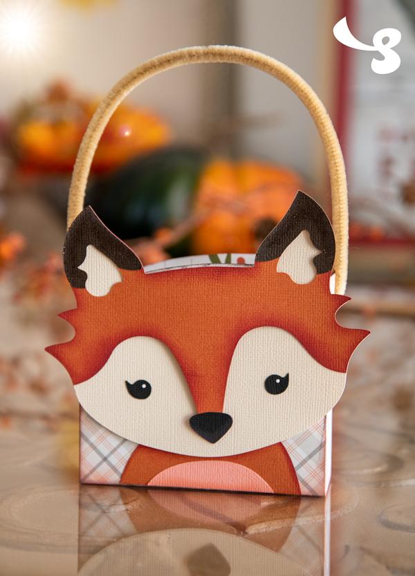 Cute Fox Bag project from SVGCuts (sneak peek)